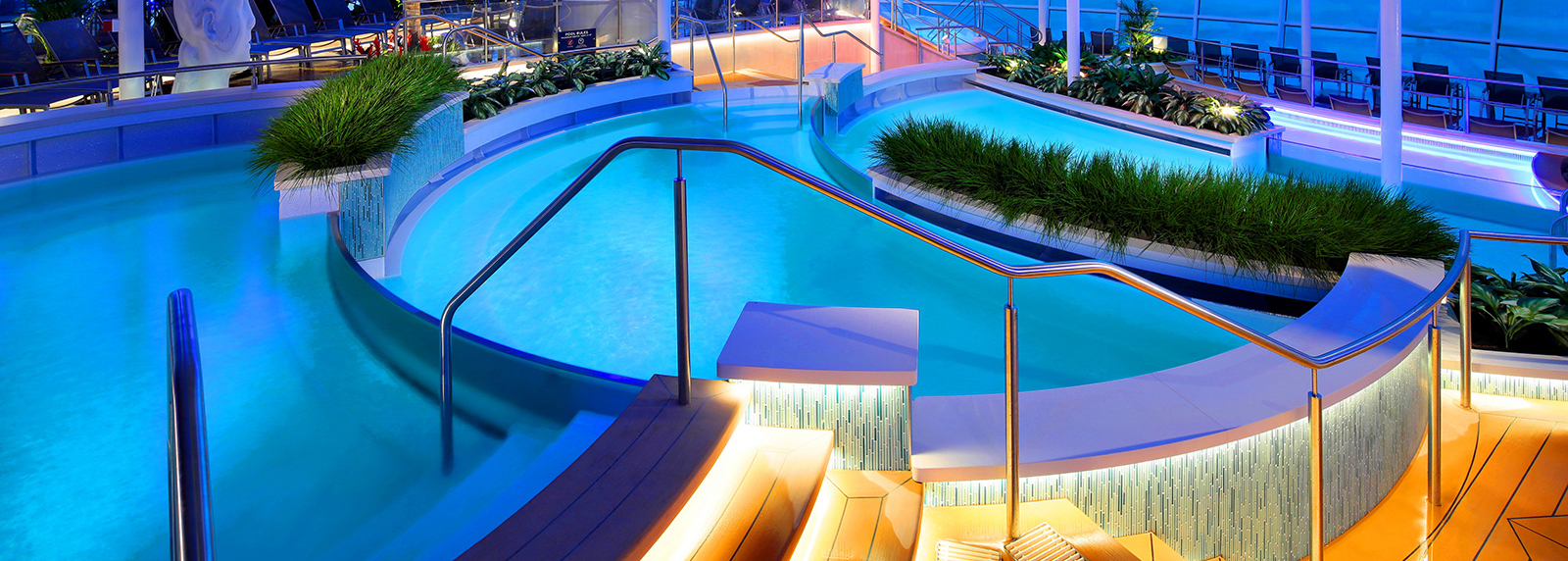 Quantum of the Seas - Pool Area - Photo: royal caribbean cruise line
